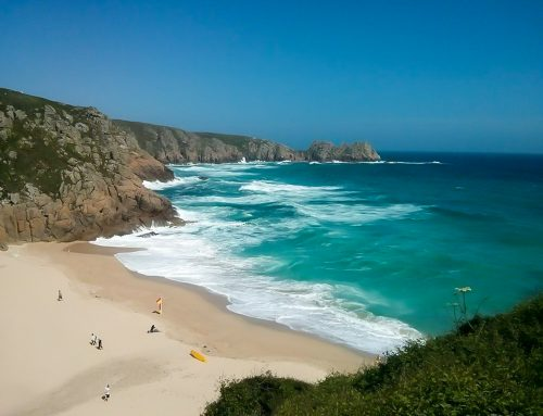 A circular walk through Porthcurno, Treen and Porth Chapel