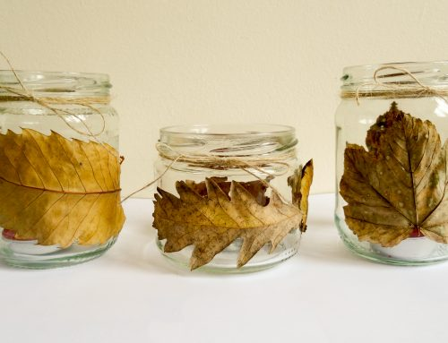 Autumn crafts for those fallen leaves