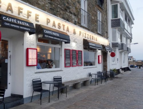 Our trusty favourites at Caffe Pasta, St Ives