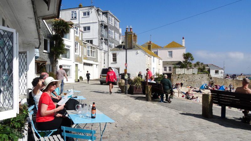 the searoom st ives harbour cafe