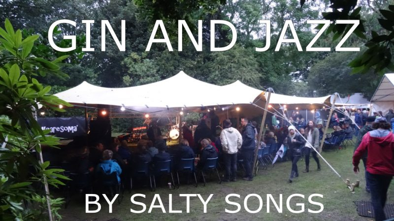 Gin and Jazz in Penlee Park Open Air Theatre