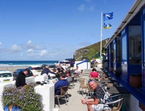 Brunch at Blue Bar, Porthtowan