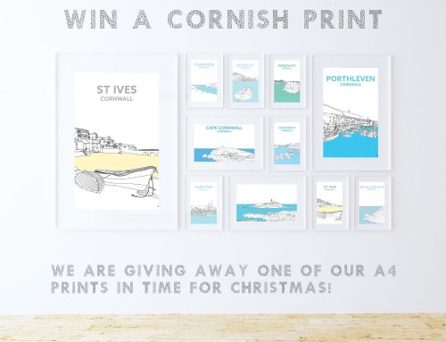 Win one of our A4 Cornish Prints