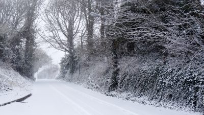 Cornish Snow Day 2018